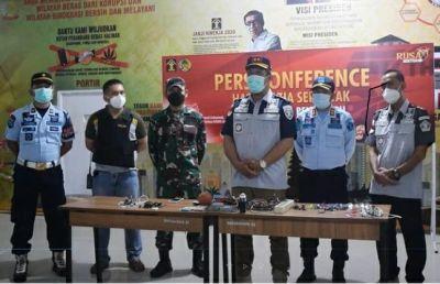 Kakanwil Kemenkumham Riau Gandeng TNI-Polri Pimpin Razia Serentak